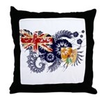 Turks and Caicos Flag Throw Pillow