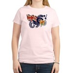 Turks and Caicos Flag Women's Light T-Shirt