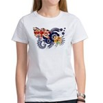 Turks and Caicos Flag Women's T-Shirt