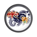 Turks and Caicos Flag Wall Clock