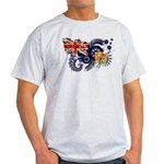 Turks and Caicos Flag Light T-Shirt