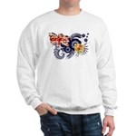 Turks and Caicos Flag Sweatshirt