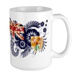 Turks and Caicos Flag Large Mug