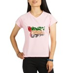 United Arab Emirates Flag Performance Dry T-Shirt