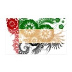 United Arab Emirates Flag 38.5 x 24.5 Wall Peel