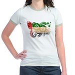 United Arab Emirates Flag Jr. Ringer T-Shirt