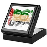 United Arab Emirates Flag Keepsake Box