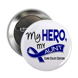"My Hero Colon Cancer 2.25"" Button (100 pack)"