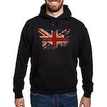 United Kingdom Flag Hoodie (dark)