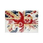 United Kingdom Flag Rectangle Magnet (100 pack)