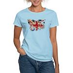 United Kingdom Flag Women's Light T-Shirt