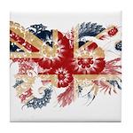 United Kingdom Flag Tile Coaster
