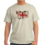 United Kingdom Flag Light T-Shirt
