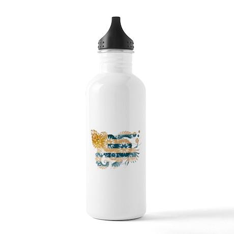 Uruguay Flag Stainless Water Bottle 1.0L