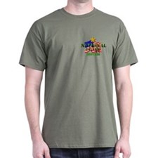 National Guard (2) Brother Black T-Shirt