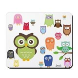 Owl Mousepad