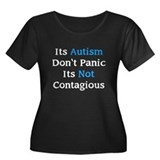It's Not Contagious Women's Plus Size Scoop Neck D