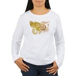 Vatican City Flag Women's Long Sleeve T-Shirt
