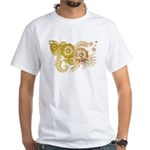Vatican City Flag White T-Shirt