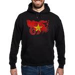 Vietnam Flag Hoodie (dark)