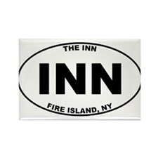 The Inn Fire Island Rectangle Magnet