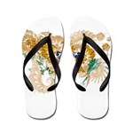 Virgin Islands Flag Flip Flops