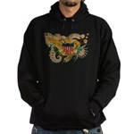 Virgin Islands Flag Hoodie (dark)