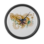 Virgin Islands Flag Large Wall Clock