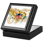 Virgin Islands Flag Keepsake Box