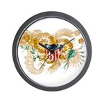 Virgin Islands Flag Wall Clock