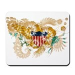 Virgin Islands Flag Mousepad