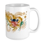 Virgin Islands Flag Large Mug