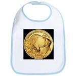 Black-Gold Buffalo Bib