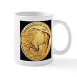 Black-Gold Buffalo RH Mug