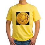 Black-Gold Buffalo Yellow T-Shirt