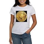 Black-Gold Buffalo Women's T-Shirt
