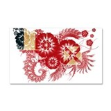 Wallis and Futuna Flag Car Magnet 20 x 12