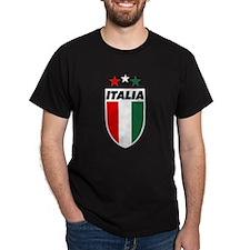 Italia 82 Black T-Shirt