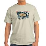 Wyoming Flag Light T-Shirt