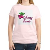 Cherry Bomb Women's Pink T-Shirt