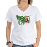Zambia Flag Women's V-Neck T-Shirt