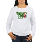 Zambia Flag Women's Long Sleeve T-Shirt