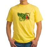 Zambia Flag Yellow T-Shirt
