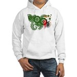 Zambia Flag Hooded Sweatshirt