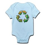 Recycle -Tie-Dye Infant Bodysuit