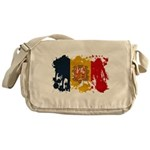 Andorra Flag Messenger Bag