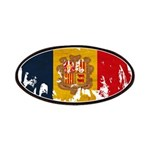 Andorra Flag Patches