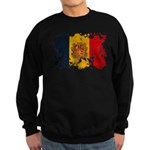 Andorra Flag Sweatshirt (dark)