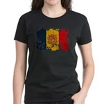 Andorra Flag Women's Dark T-Shirt