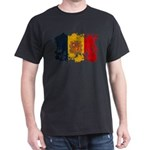 Andorra Flag Dark T-Shirt